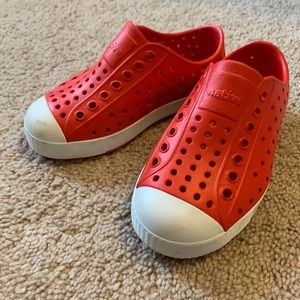 Native Red Sneakers